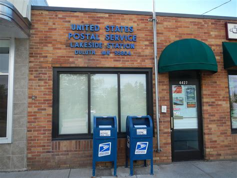 bureau post it duluth minnesota lakeside station post office