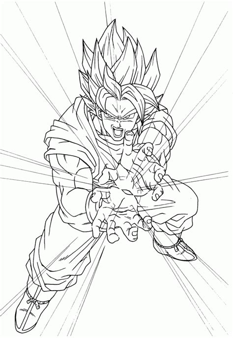 goku pictures  color coloring home