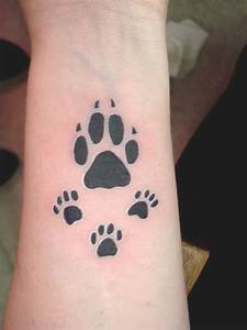 Dog Paw Print Tattoos Designs, Ideas and Meaning   Tattoos ...
