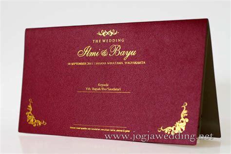 inspirasi undangan pernikahan unik elegan foto wedding jogja