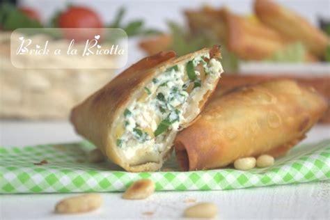 recettes de cuisine libanaise recette de ramadan brick a la ricotta amour de cuisine