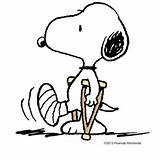 Snoopy Crutches Cartoon Foot Broken Peanuts Funny Clipart Charlie Brown Soon Leg Clip Well Broke Finally Woodstock Memes Injury Characters sketch template
