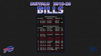 buffalo bills wallpaper schedule