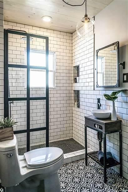 Bathroom Shower Enclosed Coastal Inspired
