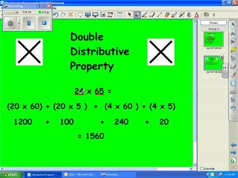 5th grade math strategy distributive property youtube