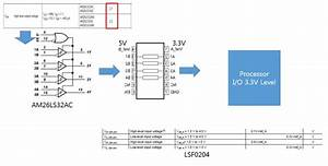 Resolved  Voltage Level Shift Between Rs-422 Am26ls32ac And Lsf0204