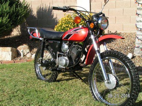 1975 Kawasaki 100 Enduro Motorcycles For Sale