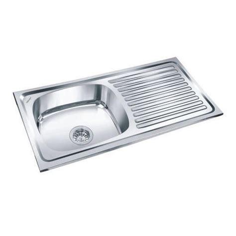 stainless steel kitchen sink sizes india stainless steel kitchen sink size 24 quot 18 quot rs 1049