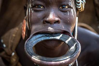 Mursi Tribe Lip Africa Tribes Plates Plate