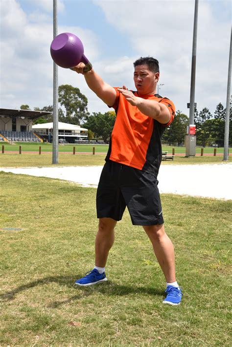 kettlebell swing hand movement exercises swings abdominal half muscles