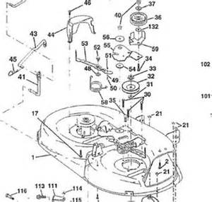 craftsman lt1000 riding lawn mower drive belt diagram