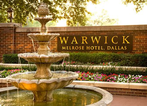 luxe location  warwick melrose hotel dallas