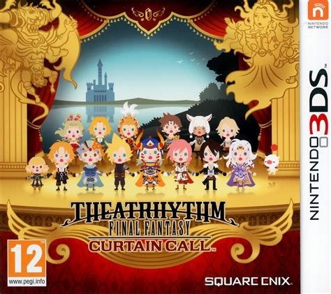 Curtain Call Move by D 233 Tails Du Torrent Quot Cia Theatrhythm