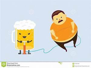 Machen Sonnenblumenkerne Fett : bier machen sie fett vektor abbildung bild von obacht ~ Lizthompson.info Haus und Dekorationen