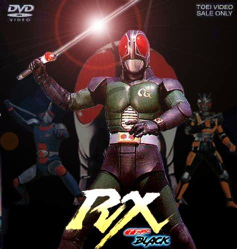 box kamen rider black rx 12 dvds r 70 00 em mercado livre