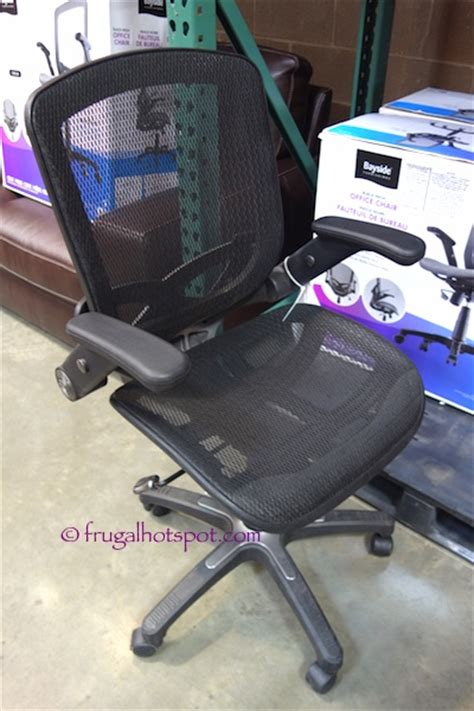 costco sale bayside furnishings black mesh office chair