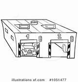 Garage Clipart Vector Illustration Royalty Dero Clipartpanda Clip Bank Central Rf Vectorstock Vectors Derocz sketch template