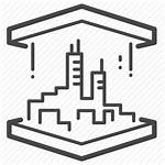 3d Printing Icon Additive Printer Manufacturing Icons