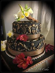 Elegant 50th Birthday Cakes For Women