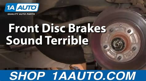 Really Bad Worn Out Front Disc Brakes Sound Terrible