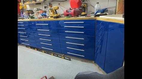 diy garage cabinets youtube