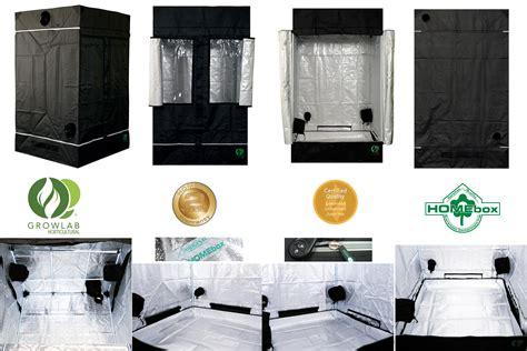 installation chambre de culture l 39 or vert tente growlab homebox chambre de culture