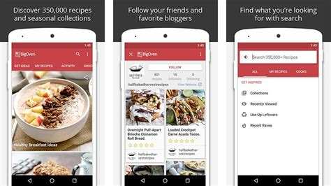 cooking apps  recipe apps  android android