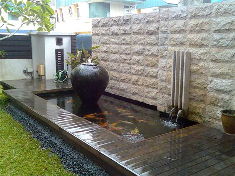 sublime koi pond designs  water garden ideas  modern homes modern backyard modern
