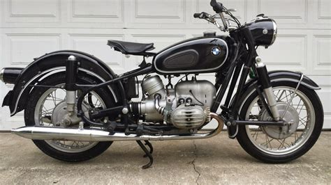 Bmw R50/2 Survivor Vintage German Motorcycle 500ccm