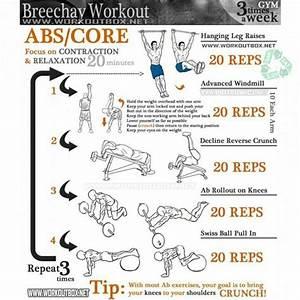 Breechay Workout - Ab  U0026 Core Training 3 Times A Week Gym Sixpack - Project Next