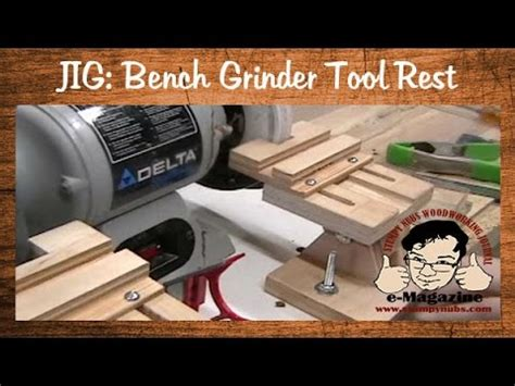shorter version homemade grinder tool rest  veritas