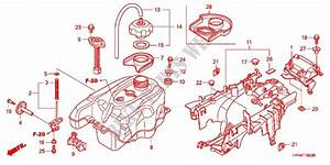 Fuel Tank For Honda Fourtrax 420 Rancher 4x4 Manual Shift