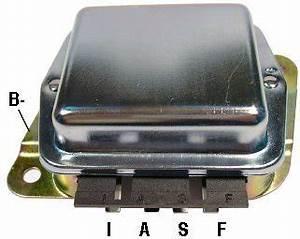 Para Ford E2pz10316a  D9pz1031un Regulador De Tensi U00f3n Del