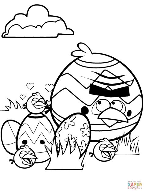 printable angry birds colouring pages  kids