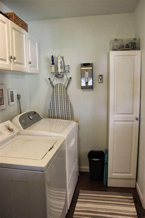organizing   organized laundry room