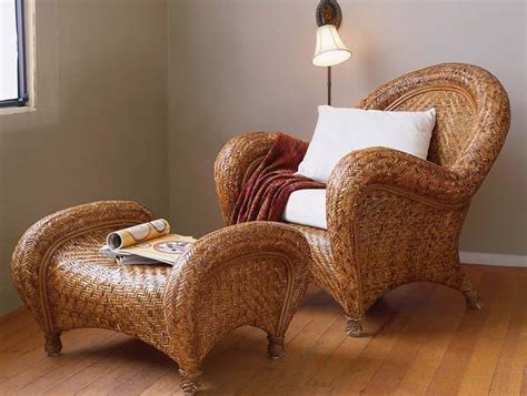 Pottery Barn Malabar Chair by Once Superfluous The Ottoman Is Now Simply The