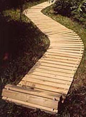 wooden decks walkways  mats