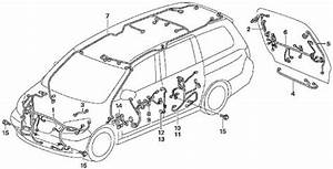 2005 Honda Odyssey Parts Diagram
