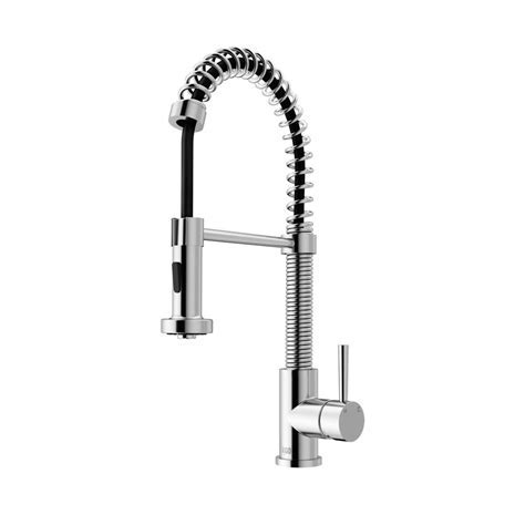 VIGO Edison Single Handle Pull Down Sprayer Kitchen Faucet