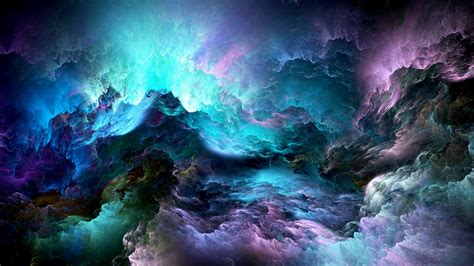 colorful abstract wallpaper wallpaper abstract clouds colorful 5k abstract 4244