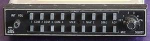 Bendix  King Kma24h-65 Audio Panel
