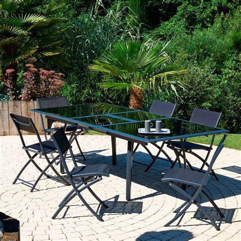 Salon de jardin LOUNGE - Salon de jardin pas cher Auchan - Ventes-pas-cher.com