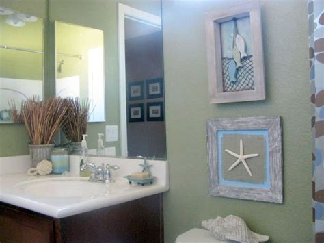 tiny bathroom design ideas  beach theme