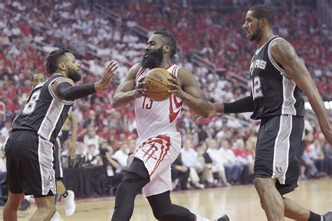 rockets lose ugly game  spurs lead    dream shake