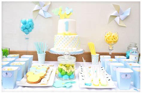 decoration anniversaire 1 an garon le bar kit anniversaire d 233 coration sweet table