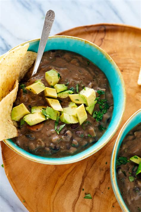 spicy black bean soup recipe cookie  kate