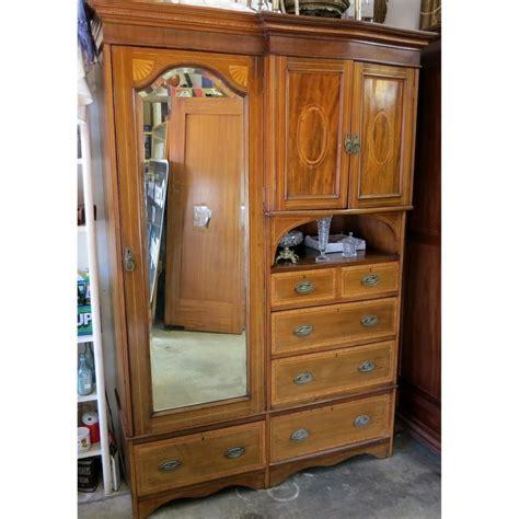 armoire vintage chambre edwardian compactum wardrobe antique armoire storage
