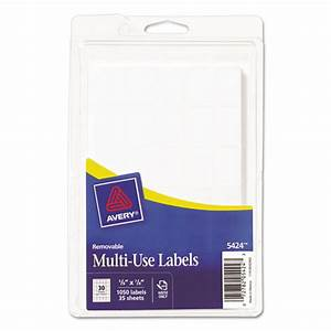 avery 5424 removable multi use labels handwrite only 5 8 With avery 5424 template