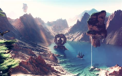 Digital Art, Artwork, Fantasy Art, Landscape