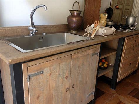 mobile con lavello da cucina la cucina vintage industriale cucine belli